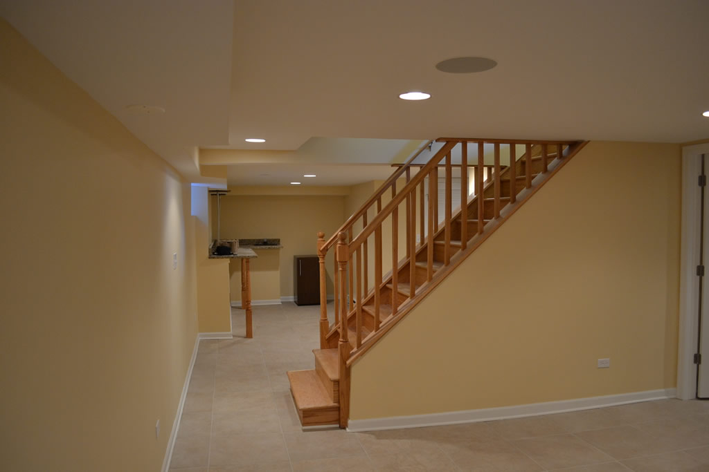 Basement Remodeling Chicago Pleasing Basement Remodeling  Fred Remodeling Contractors Chicago  Home . 2017